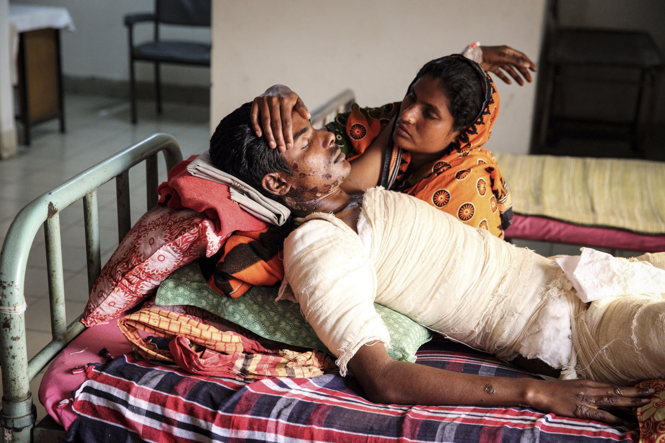 Life on Fire: Victims of Petrol bomb