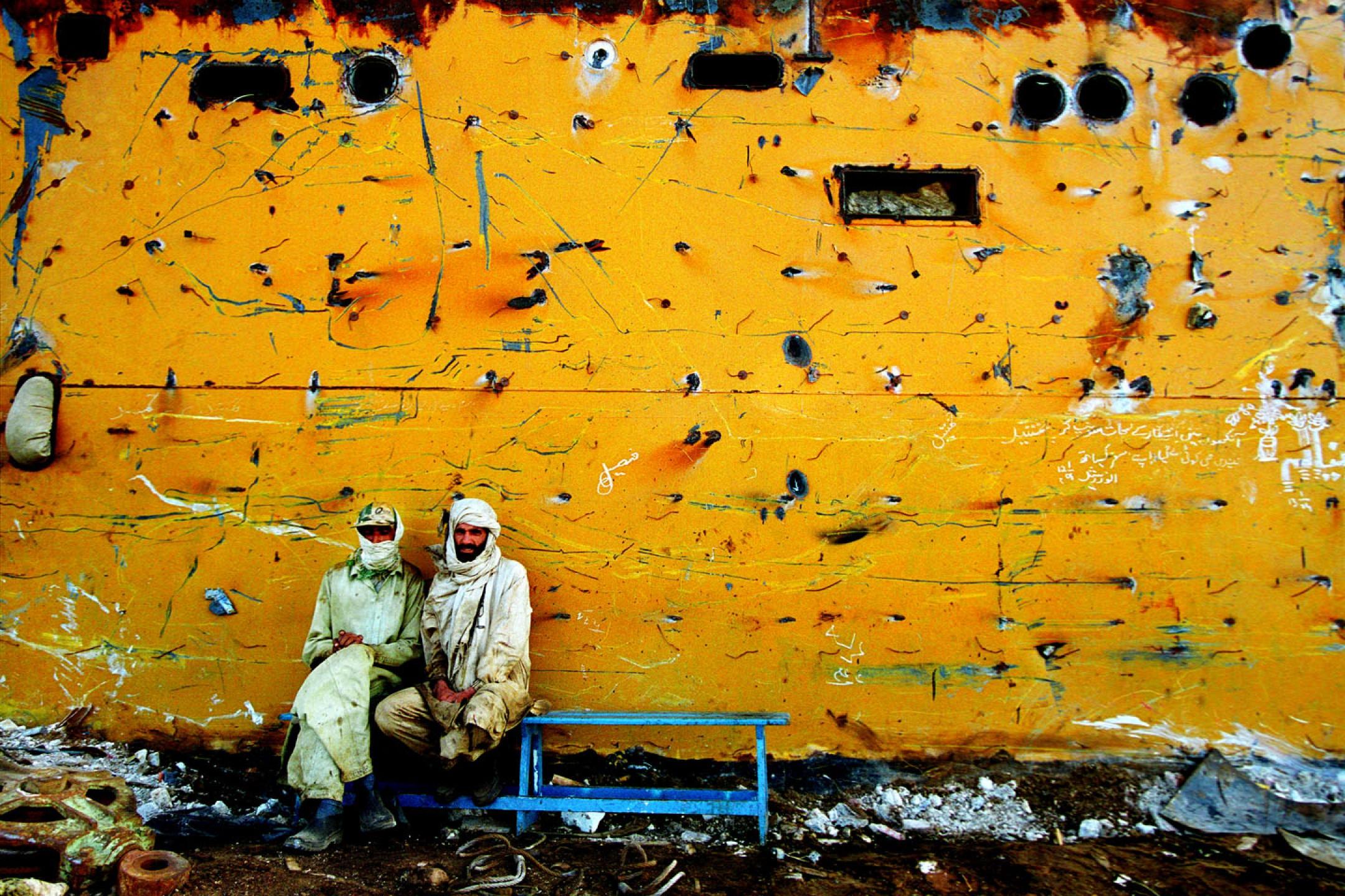 Ships' Graveyard in Pakistan
