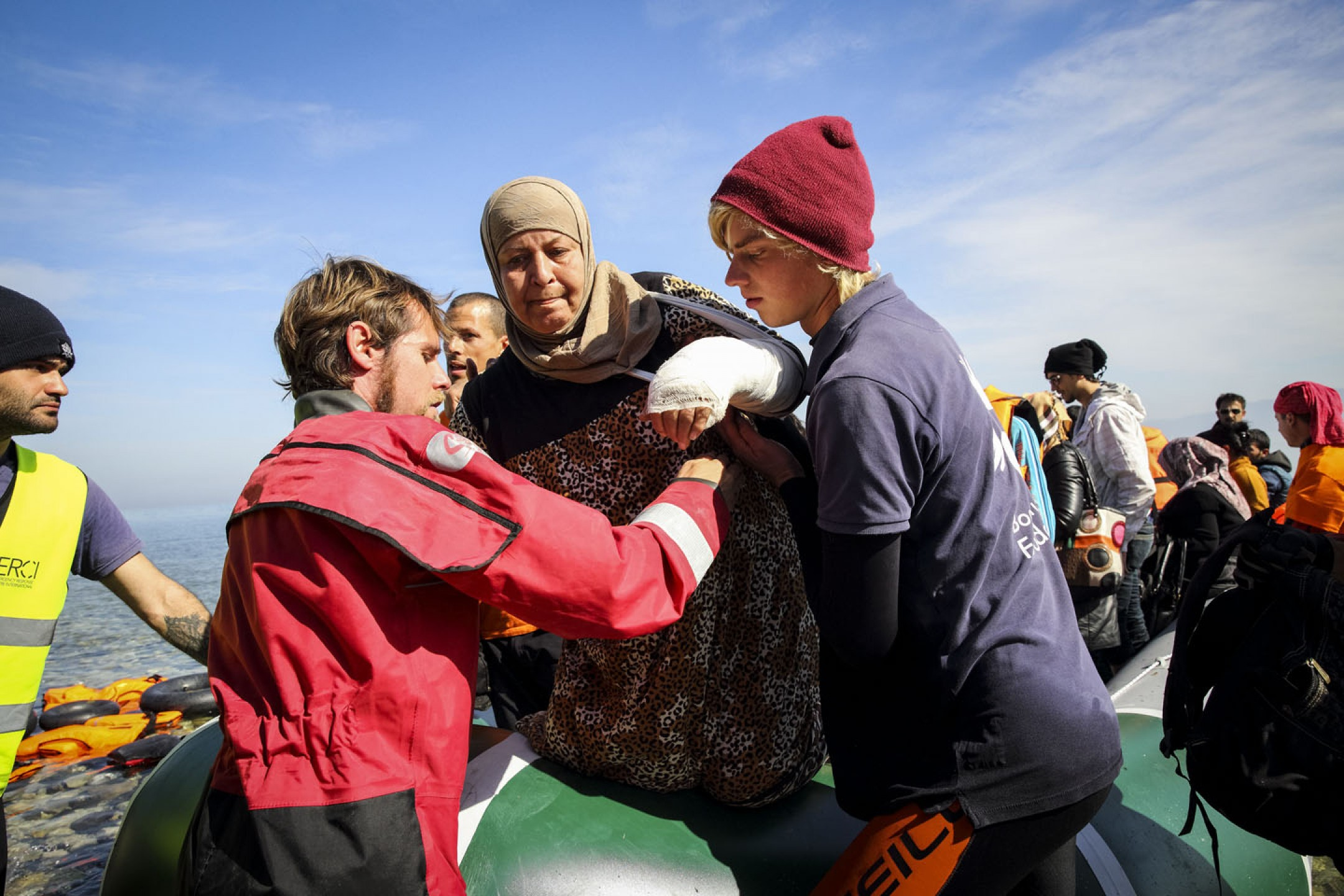 The Refugee Crisis in Greece